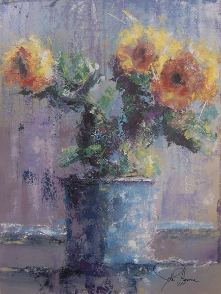 Wall Art - Painting - Sunshine by John Henne