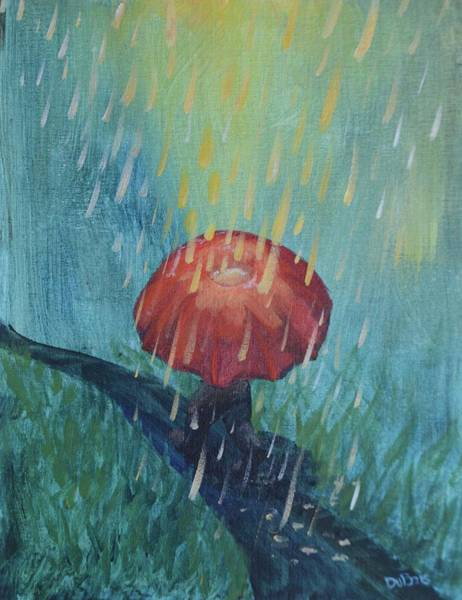 Painting - Sun Showers by Lisa DuBois