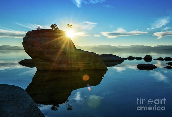 Wall Art - Photograph - Sun Star Mirror by Jamie Pham