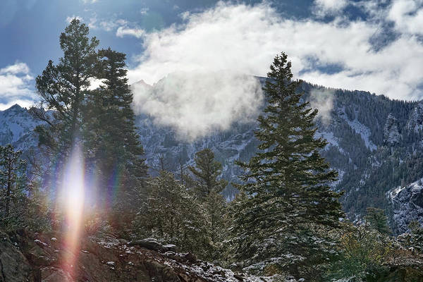 Photograph - Sun Struck In The Mountains by Leda Robertson
