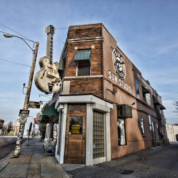 Recording Photograph - Sun Studio - Memphis #1 by Stephen Stookey