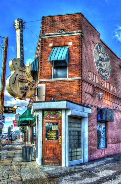 Photograph - Sun Studio Memphis Tennessee Art by Reid Callaway
