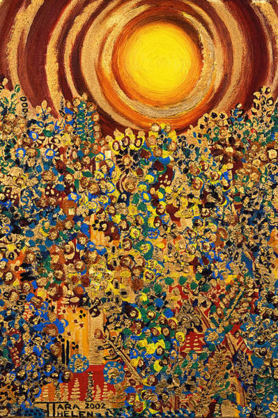 Tara Painting - Sun by Tara Thelen - Printscapes