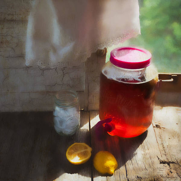 Photograph - Sun Tea by Anna Louise