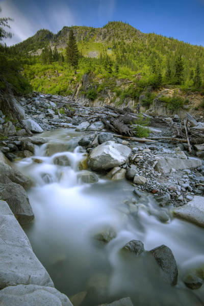 Photograph - Sunbeam Creek by Rick Berk