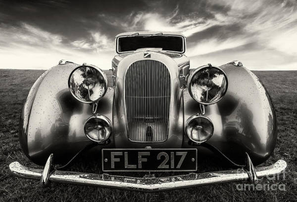 Photograph - Sunbeam Talbot Darracq by Adrian Evans