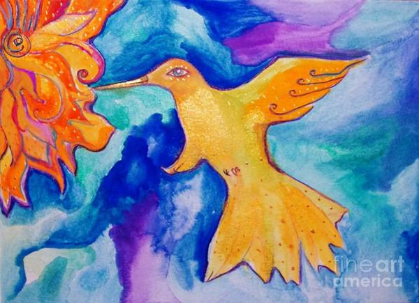 Painting - Sunbird by Garden Of Delights