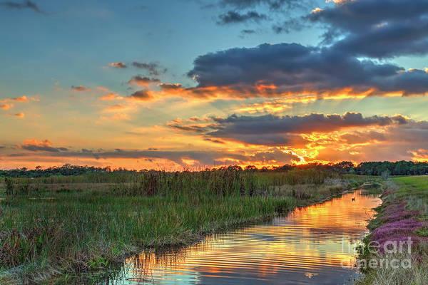Wall Art - Photograph - Sunburst Sunset by Rick Mann