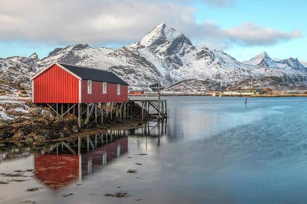 Rot Photograph - Sund, Lofoten - Norway by Joana Kruse
