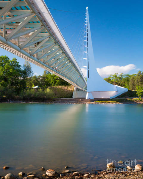 Photograph - Sundial Bridge 1 by Anthony Bonafede