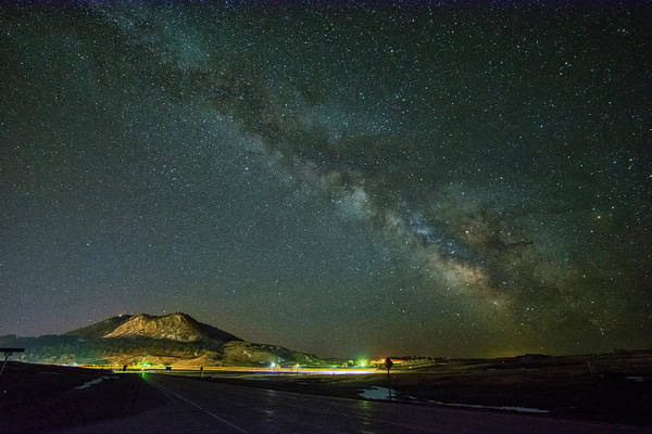 Photograph - Sundance Milky Way by Fiskr Larsen