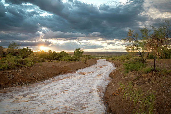 Photograph - Sundance River At Sunset by Mary Lee Dereske