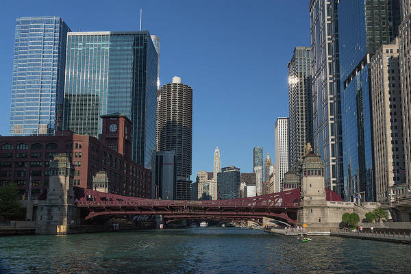 Photograph - Sunday Afternoon On The Chicago River by Jemmy Archer
