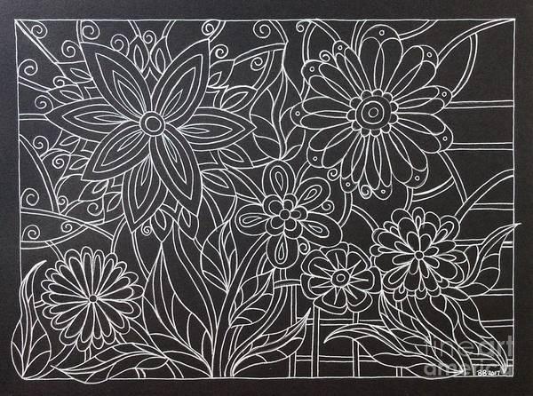 Yourself Drawing - Diy Sunday  Doodle by Breena Briggeman