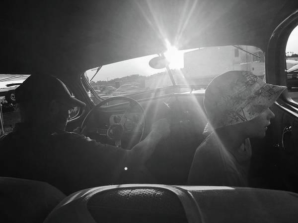 Photograph - Sunday Drive With Papa by Kelly Hazel