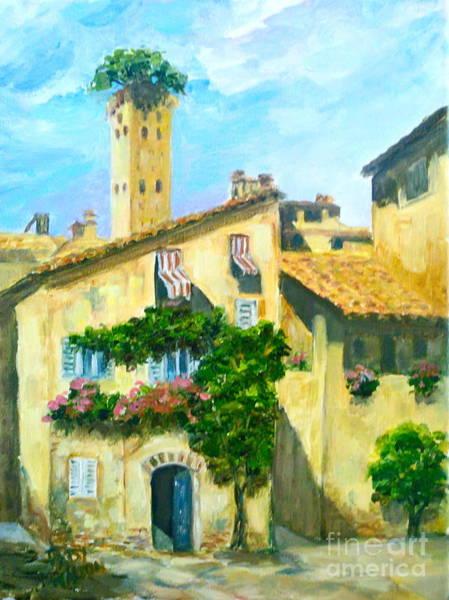 Sunday In Siena Art Print