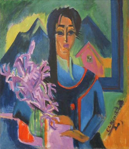 Painting - Sunday In The Alps By Ernst Ludwig Kirchner 1922 by Ernst Ludwig Kirchner