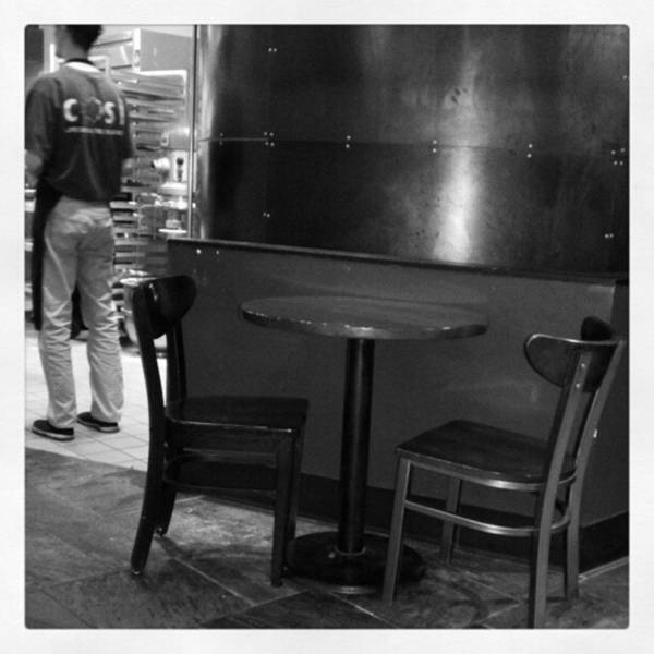 Photograph - Sunday Lunch...empty #cafe Table In by Tammy Winand