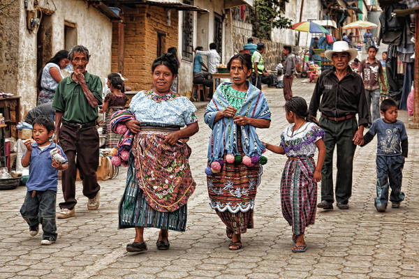 Photograph - Sunday Morning In Guatemala by Tatiana Travelways