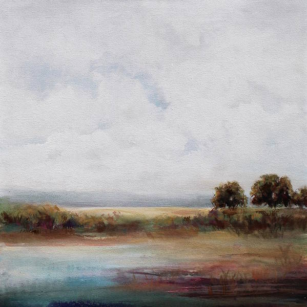 Wall Art - Painting - Sunday Morning by Karen Hale