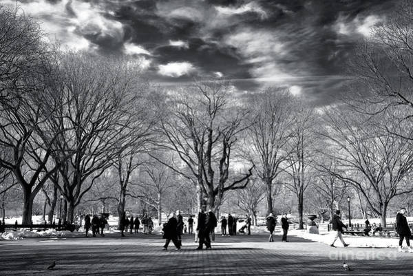 Wall Art - Photograph - Sunday Morning On The Mall by John Rizzuto
