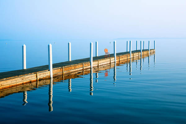 Photograph - Sunday Morning Pier by Todd Klassy