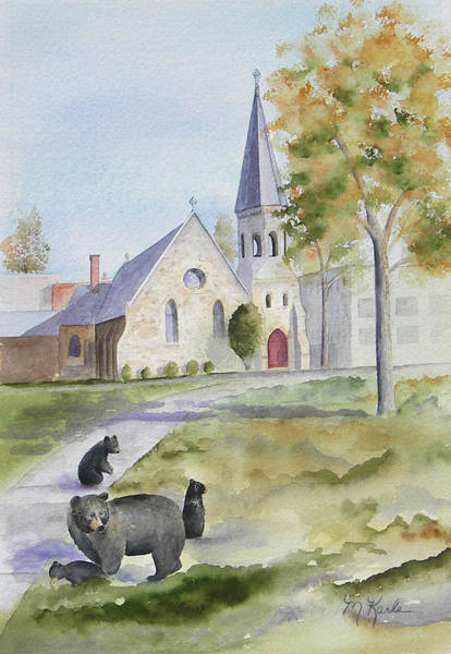 Painting - Sunday Stroll by Marsha Karle