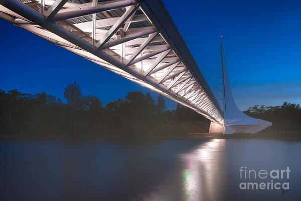 Photograph - Sundial Bridge 4 by Anthony Bonafede