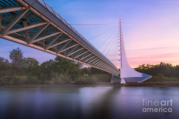 Sundial Bridge 6 Art Print