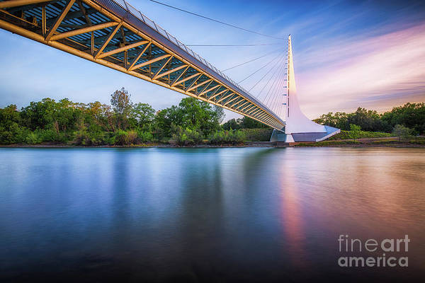 Photograph - Sundial Bridge 8 by Anthony Michael Bonafede