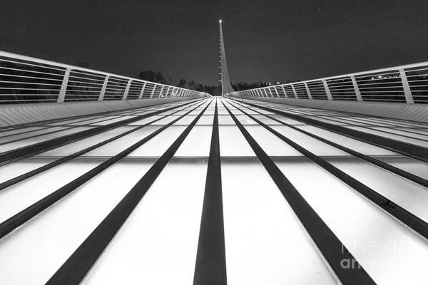 Photograph - Sundial Bridge 9 by Anthony Bonafede