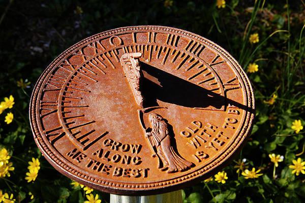 Wall Art - Photograph - Sundial by Frank Savarese