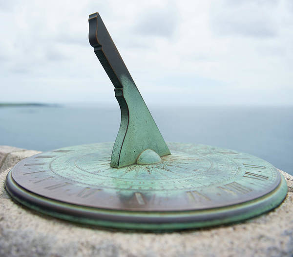 Photograph - Sundial II by Helen Northcott