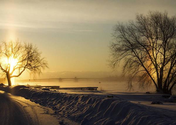 Photograph - Sundog On The Bay by Tim Nyberg