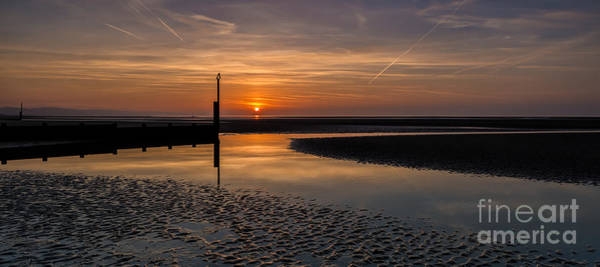 Tidal Photograph - Sundown by Adrian Evans