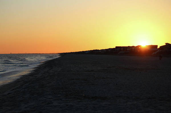 Photograph - Sundown At Holden Beach by Cynthia Guinn