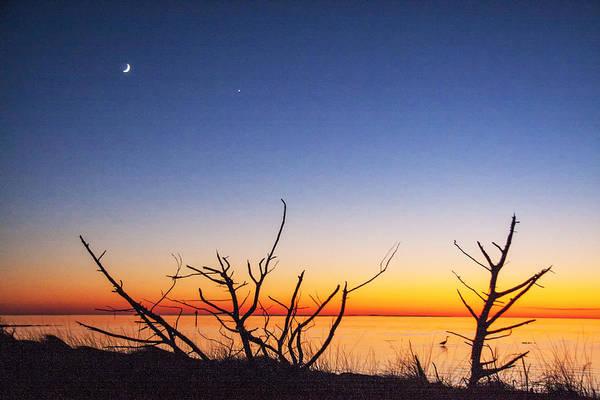 Photograph - Sundown At The Sound by Jim Dollar