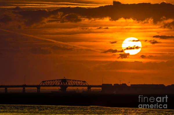 Sundown On The Charleston Coast  Art Print