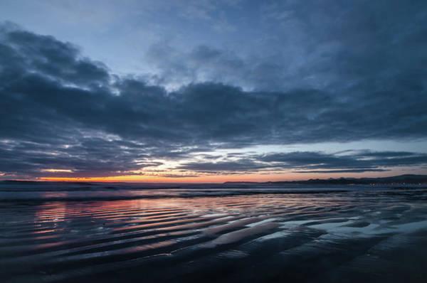 Photograph - Sundown On The Coast by Margaret Pitcher