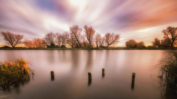 Photograph - Sundown On The Ouse by James Billings