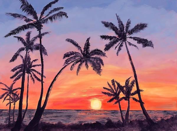 Captiva Island Painting - Sundown by Sue Gouse