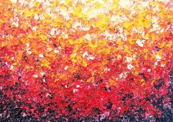 Wall Art - Painting - Sundrops by Rachel Bingaman