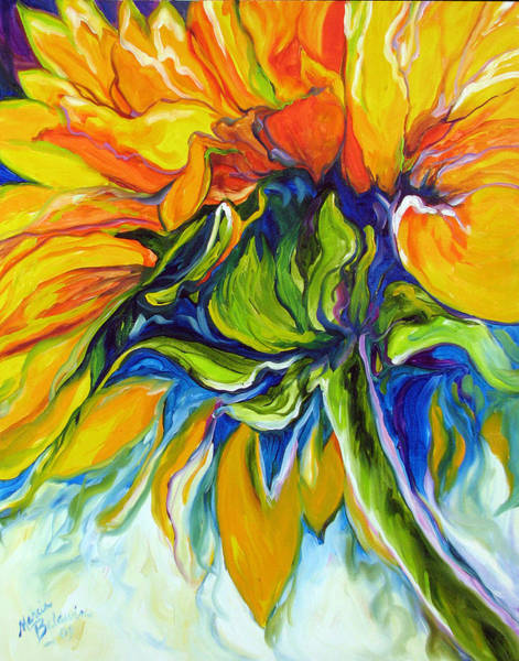 Painting - Sunflower Day by Marcia Baldwin