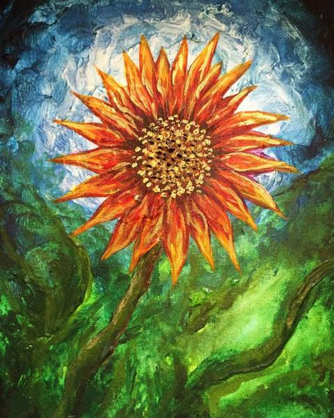 Painting - Sunflower Joy by Michelle Pier
