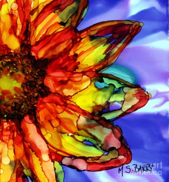 Painting - Sunflower by Maria Barry
