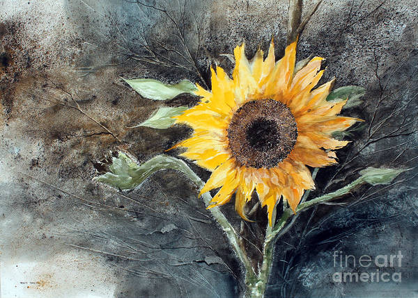 Painting - Sunflower by Monte Toon
