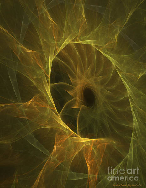 Digital Art - Sunflower Nebula by Sandra Bauser Digital Art