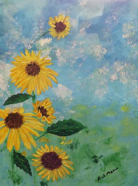 Wall Art - Painting - Sunflower by Rich Mason