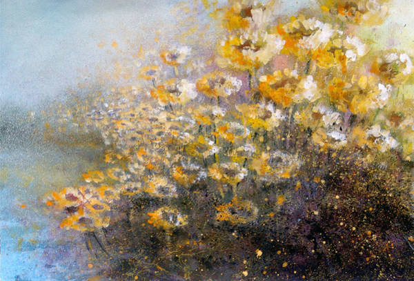 Painting - Sunflowers by Andrew King