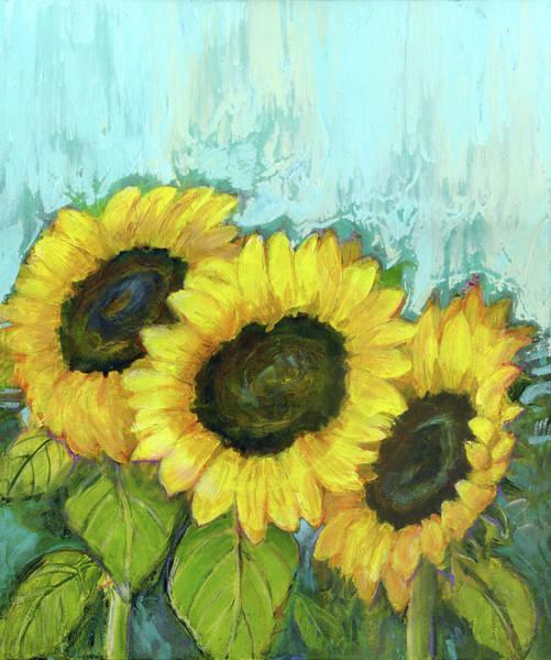 Wall Art - Painting - Sunflowers by Blenda Studio